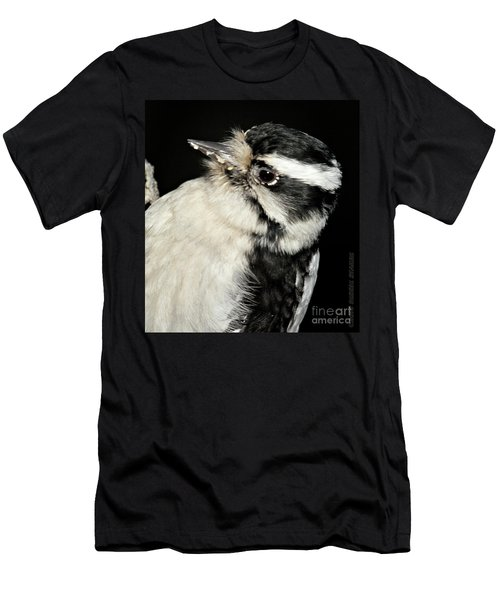 Downy Woodpecker Female Men's T-Shirt (Athletic Fit)