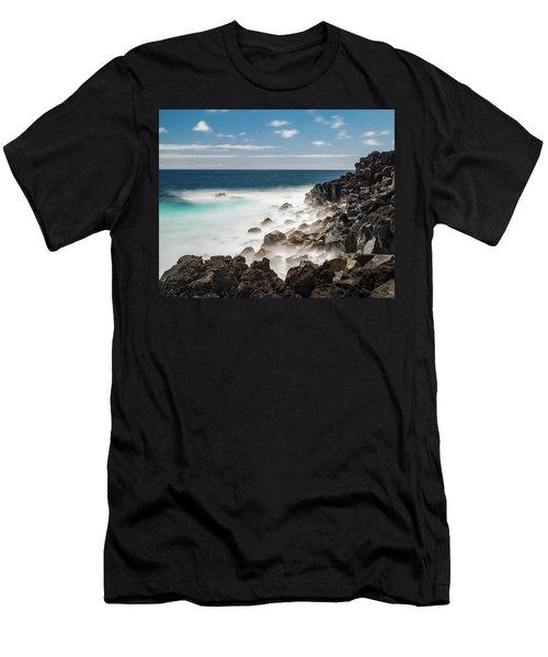 Dreamy Hawaiian Coastline Men's T-Shirt (Athletic Fit)