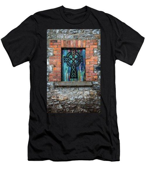 Drogheda Celtic Cross Men's T-Shirt (Athletic Fit)