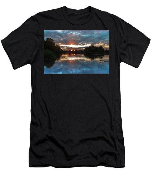 Dusk Aquarelle Men's T-Shirt (Athletic Fit)