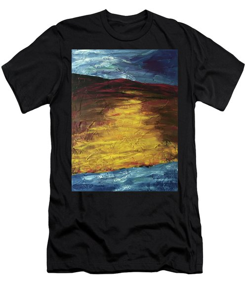 Earth In The Between Men's T-Shirt (Athletic Fit)