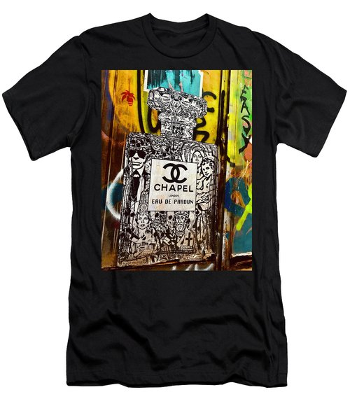 Eau De Pardon By Chanel Or Chapel  Men's T-Shirt (Athletic Fit)