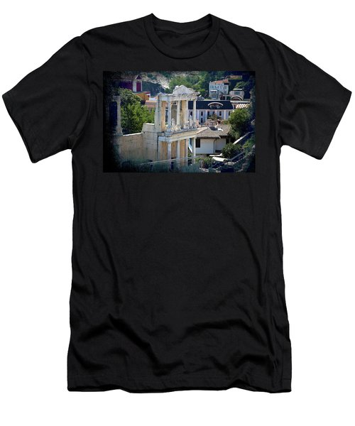 Men's T-Shirt (Athletic Fit) featuring the photograph Echo From The Old Times by Milena Ilieva