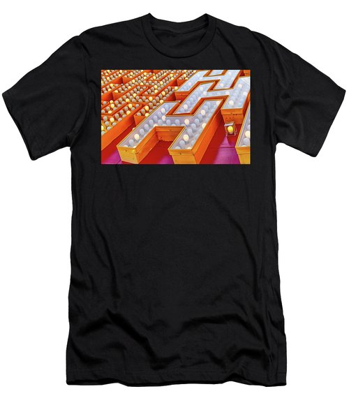 Men's T-Shirt (Athletic Fit) featuring the photograph Eggs Benedict by Skip Hunt
