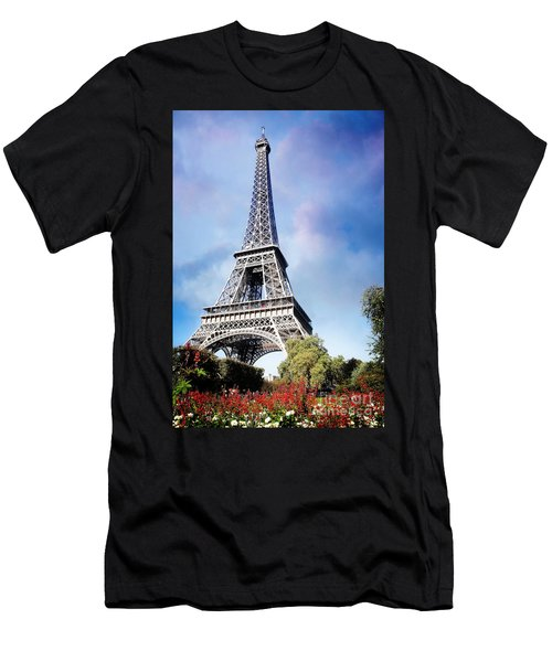 Men's T-Shirt (Athletic Fit) featuring the photograph Eiffel Garden by Scott Kemper