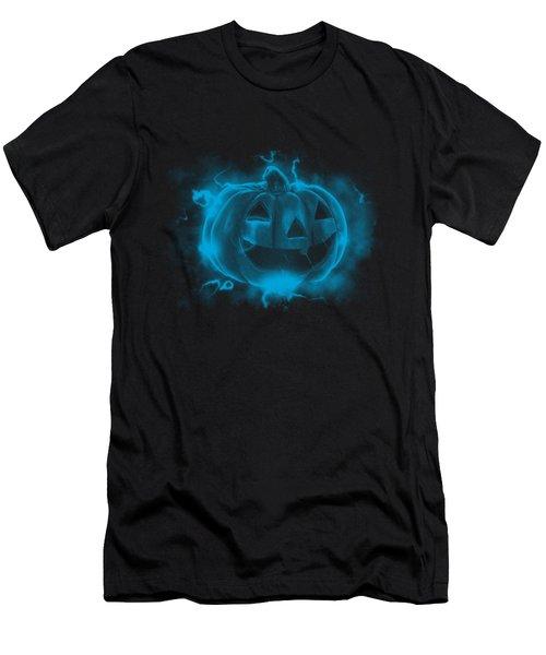 Electric Pumpkin Men's T-Shirt (Athletic Fit)