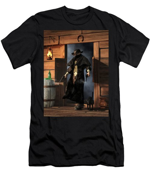 Enter The Outlaw Men's T-Shirt (Athletic Fit)
