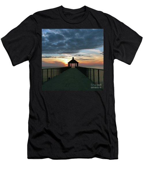 Evening Peace Men's T-Shirt (Athletic Fit)