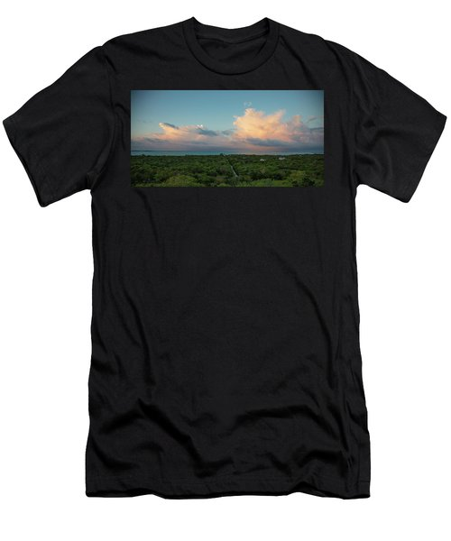 Exuma Skies Men's T-Shirt (Athletic Fit)