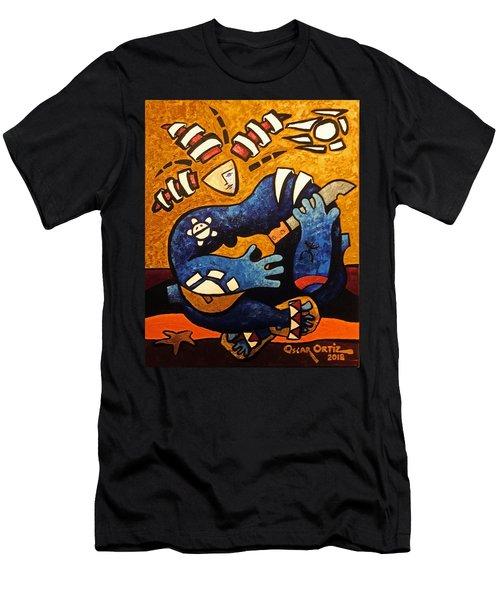 Fajardo Dreaming Men's T-Shirt (Athletic Fit)