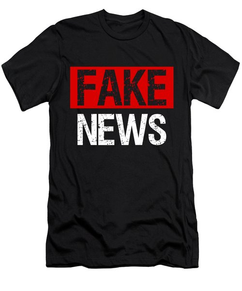 Fake News Costume Men's T-Shirt (Athletic Fit)