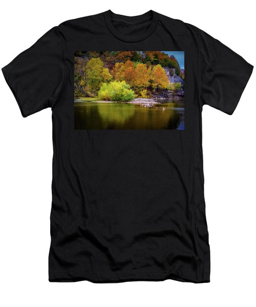 Fall Colors Of The Ozarks Men's T-Shirt (Athletic Fit)