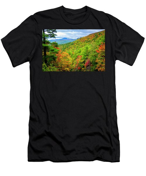 Fall In The Smokies Men's T-Shirt (Athletic Fit)