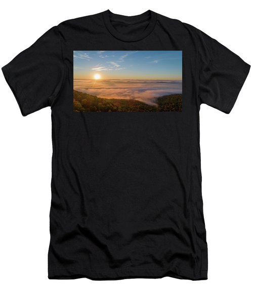 Fall Sunrise Men's T-Shirt (Athletic Fit)