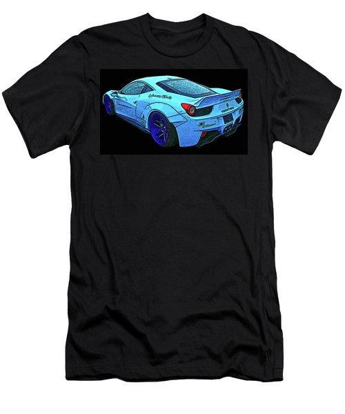Ferrari 458 Liberty Walk Men's T-Shirt (Athletic Fit)
