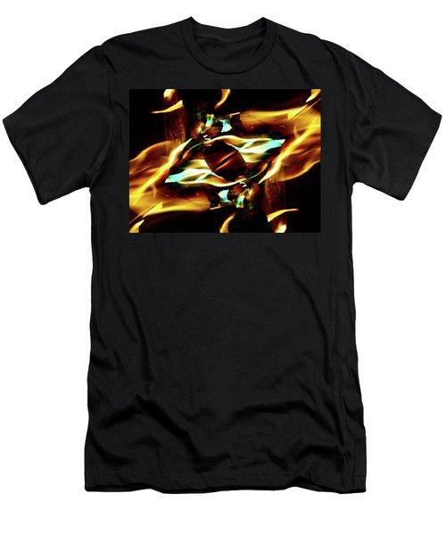 Fire Eye Men's T-Shirt (Athletic Fit)