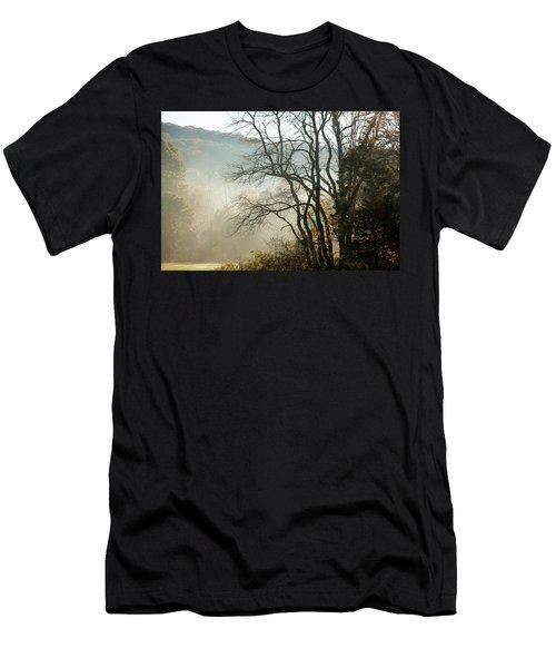 Fog Lifts Men's T-Shirt (Athletic Fit)