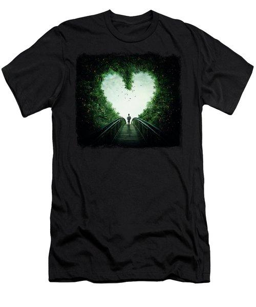 Follow Your Heart Men's T-Shirt (Athletic Fit)