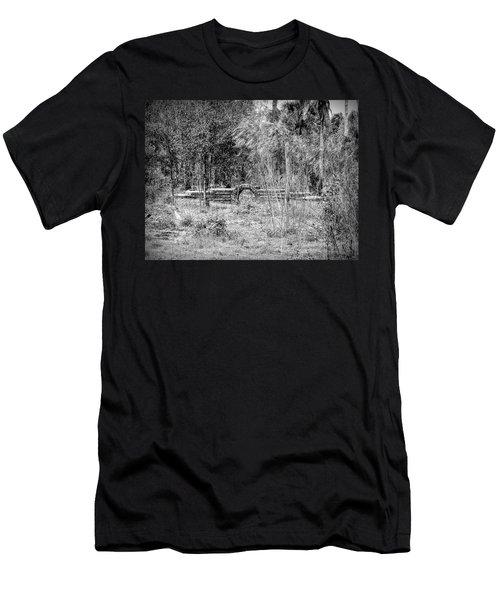 Footbridge To Nowhere Men's T-Shirt (Athletic Fit)