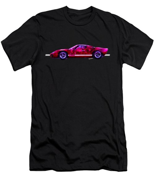 Ford Gt 40 Night Moves Men's T-Shirt (Athletic Fit)