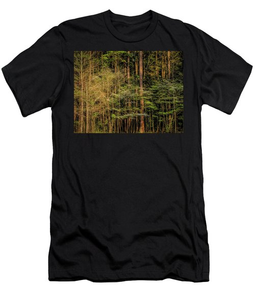 Forest Dogwood Men's T-Shirt (Athletic Fit)