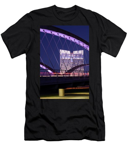 Fort Worth West Seventh Street Bridge V2 021419 Men's T-Shirt (Athletic Fit)