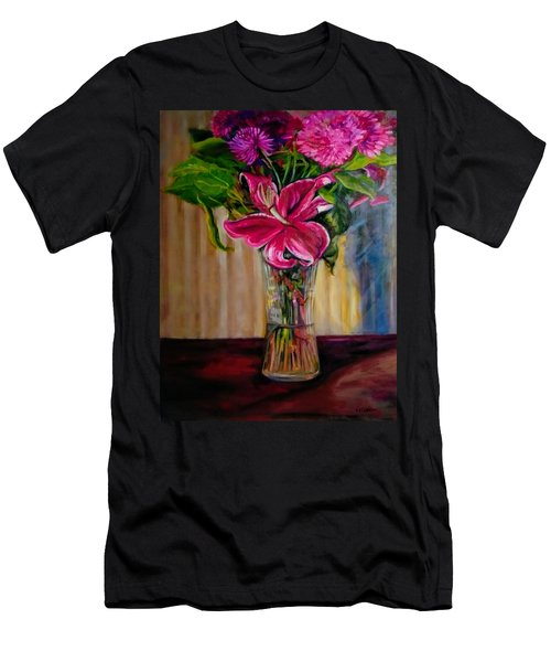 Fragrance Filled The Room Men's T-Shirt (Athletic Fit)