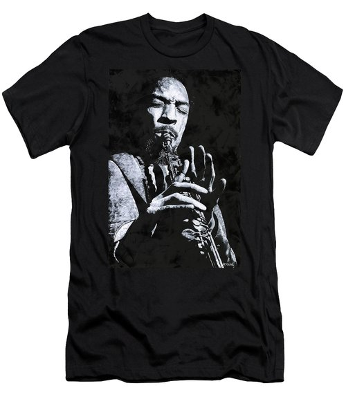 Freedom In Sax Men's T-Shirt (Athletic Fit)