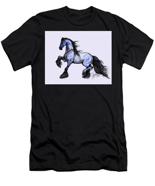 Friesian Mare Men's T-Shirt (Athletic Fit)