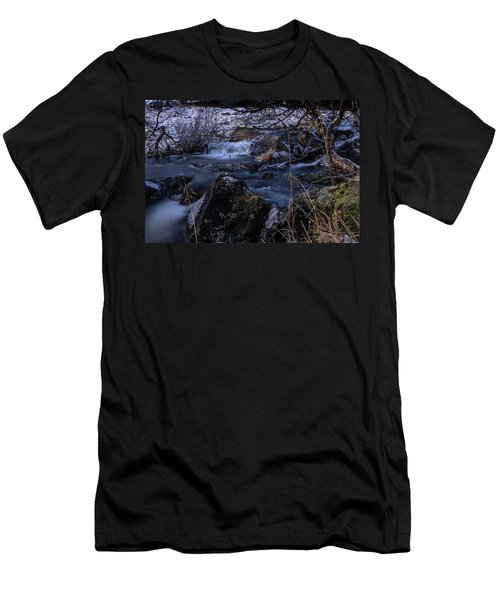 Frozen River II Men's T-Shirt (Athletic Fit)