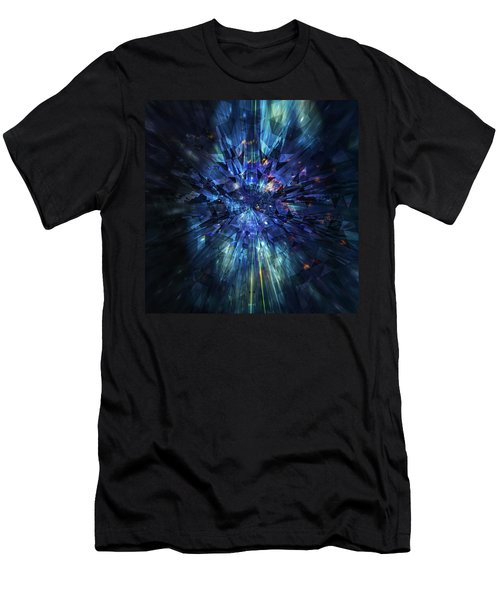 Galactic Crystal Men's T-Shirt (Athletic Fit)