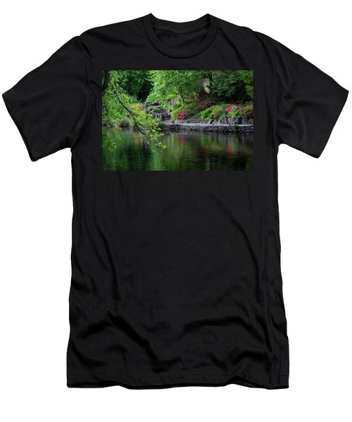 Garden Reflections Men's T-Shirt (Athletic Fit)
