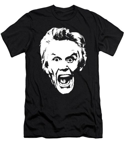Gary Busey Minimailstic Pop Art Men's T-Shirt (Athletic Fit)