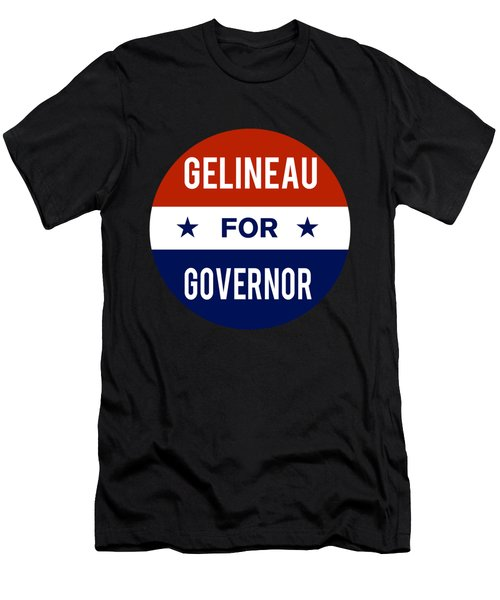 Gelineau For Governor 2018 Men's T-Shirt (Athletic Fit)