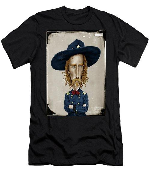 General George Custer Men's T-Shirt (Athletic Fit)