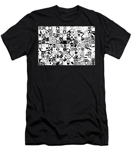 Genius3_25052019 Men's T-Shirt (Athletic Fit)