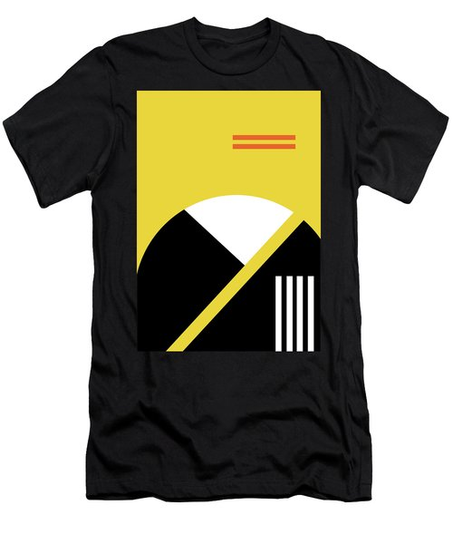 Geometric Painting 5 Men's T-Shirt (Athletic Fit)