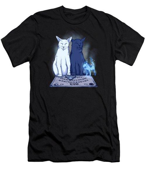 Ghost Kitten Men's T-Shirt (Athletic Fit)