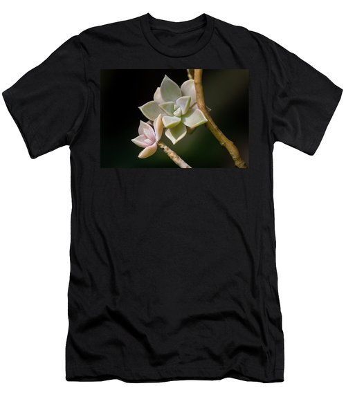 Men's T-Shirt (Athletic Fit) featuring the photograph Ghost Plant by Dale Kincaid