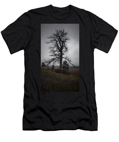 Men's T-Shirt (Athletic Fit) featuring the photograph Ghostly Snag by Dan Miller