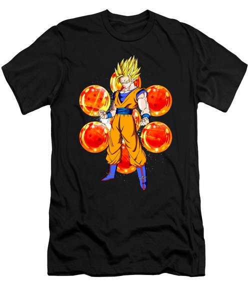Goku Men's T-Shirt (Athletic Fit)