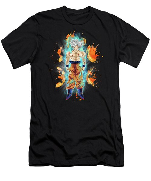 Goku Ultra Instinct Men's T-Shirt (Athletic Fit)