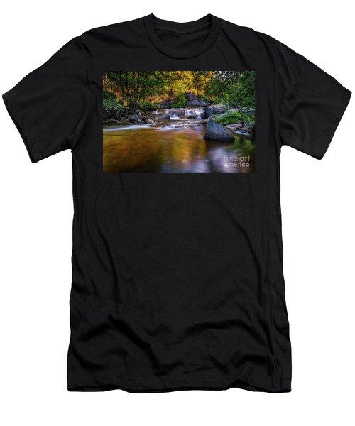 Golden Calm Men's T-Shirt (Athletic Fit)