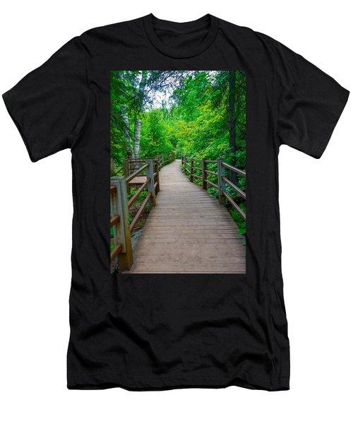 Gooseberry River Trail Men's T-Shirt (Athletic Fit)