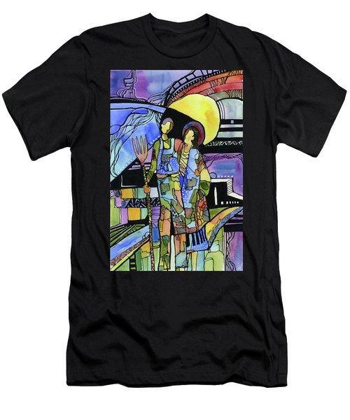 Gothic Friends Men's T-Shirt (Athletic Fit)