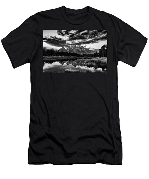 Grand Tetons, Wyoming Men's T-Shirt (Athletic Fit)