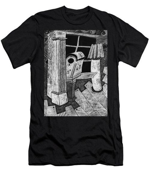 Grandfather Clock Men's T-Shirt (Athletic Fit)