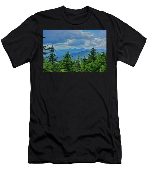Grandmother Mountain Men's T-Shirt (Athletic Fit)