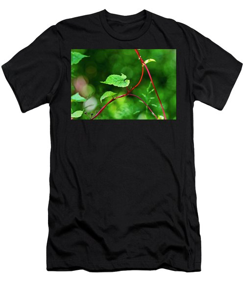 Men's T-Shirt (Athletic Fit) featuring the photograph Grape Vine by Meta Gatschenberger