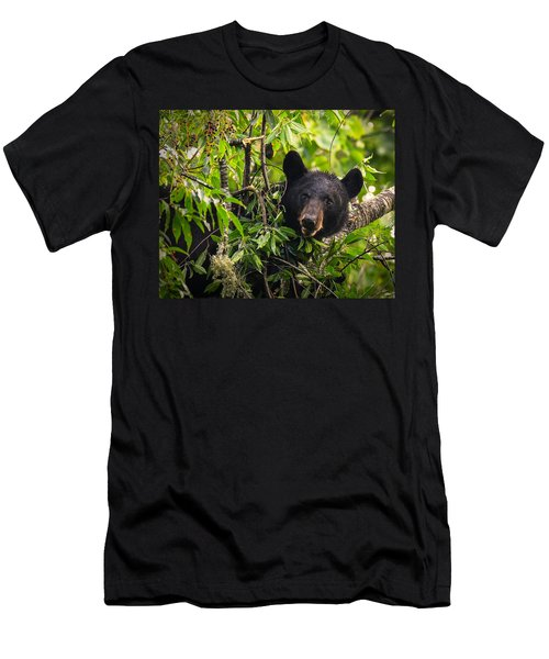 Great Smoky Mountains Bear - Black Bear Men's T-Shirt (Athletic Fit)